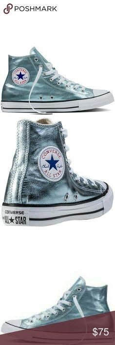 6f77d6c2a8ab METALLIC CHUCK TAYLOR ALL STARS GLACIER 10.5 NEW! CONVERSE CHUCK TAYLOR ALL  STARS