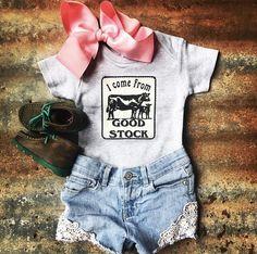 Je viens de bon stock gris Onesie - First Baby Must Haves - Heather Gray, Cute Babies, Baby Kids, Baby Baby, Baby Girl Camo, Baby Newborn, Baby Girl Stuff Newborn, Baby Boy Cowboy, Boy Babies