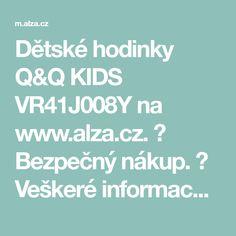 Dětské hodinky Q&Q KIDS VR41J008Y na www.alza.cz. ✅ Bezpečný nákup. ✅ Veškeré informace...