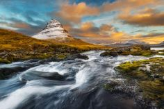 Kirkjufell Sunrise by Noppawat Charoensinphon on 500px