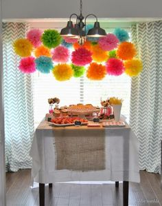 A Pink And Gold Fiesta Bridal Shower