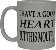 Online shopping from a great selection at Home & Kitchen Store. Diy Sharpie Mug, Good Heart, Kitchen Store, Gag Gifts, Home Kitchens, Online Shopping, Mugs, Amazon, Tableware