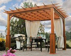 Una pérgola de madera puede proporcionar tanto sombra como abrigo al aire libre. Tener una pérgola de madera construida en el patio mejorará su valor de la propiedad y proporcionará un lugar excele…