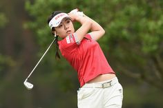 Pei-Ying Tsai Photos Photos - Pei-Ying Tsai of Taiwan hits her tee shot on the 11th hole during the final round of the Nichirei Ladies at the on June 18, 2017 in Chiba, Japan. - Nichirei Ladies - Day 3