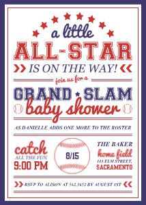 Attractive Baby All Star. Baseball Baby ShowersStar ...