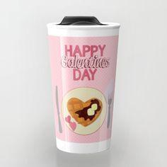 happy galentines day valentines day, travel mug by studiomarshallgifts on Etsy