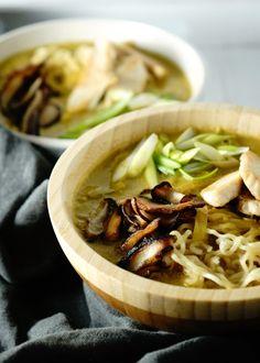 Spicy Coconut Broth Noodles – IVGreenhouse - Exploring Food