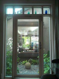 Internal courtyard (different level) Victorian Patio Doors, Victorian Terrace, Victorian Homes, House Siding, House Doors, Upvc Patio Doors, House Extension Design, Extension Ideas, Bristol Houses
