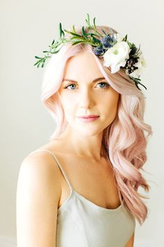 not a fan of the crown and not brave enough for the pink, but love the waves!