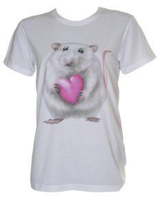 Rat T Shirts Ladies - Rats Rats Rats