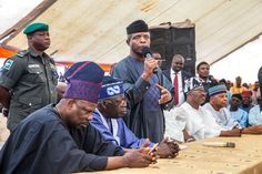 Yemi Osinbajo visits Osun to condole with Akande on wife's death – Video