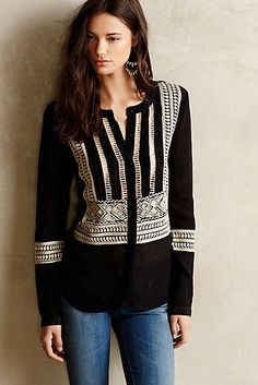 Women's Blouses, Lace & Peplum Tops | Anthropologie