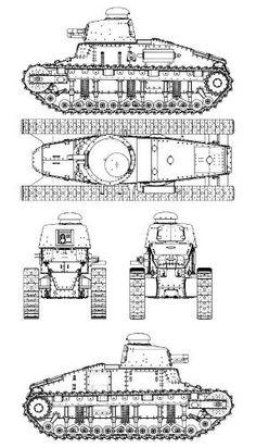 Char leger Renault NC-27