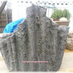 Draping Fabric as Hypertufa | The Hypertufa Gardener