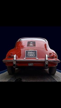 1960 #Porsche 356 #ClassicCar #QuirkyRides