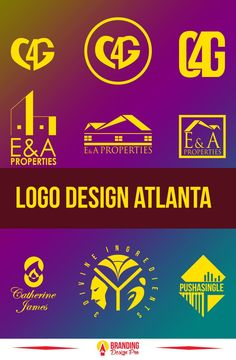 Atlanta logo design graphic designer. Looking for an Atlanta logo designer. Over the years I've worked with many clients to help them bring their brand identity and vision to life visually. Visit brandingdesignpro.com for prices and for more info. Logos starting as low as $157. Schedule a FREE consultation call today. ( logo design, brand identity design, custom logo design, Atlanta logo design) #logodesign #logos #graphicdesign #graphicdesigner #logodesigner Vector Logo Design, Best Logo Design, Brand Identity Design, Custom Logo Design, Branding Design, Freelance Graphic Design, Graphic Design Services, Atlanta, Logo Branding