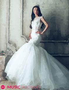 Mermaid, Formal Dresses, Fashion, Wedding Bride, Wedding, Musik, Gowns, Dresses For Formal, Moda