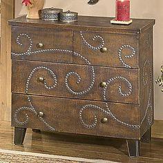 Patterned Dresser