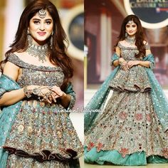 Bridesmaid Dresses Pakistani and Indian Fashion Indian Wedding Gowns, Pakistani Wedding Dresses, Indian Dresses, Indian Outfits, Indian Designer Outfits, Designer Dresses, Stylish Dresses, Fashion Dresses, Lehnga Dress