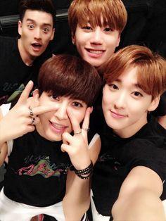 Eli, Kiseop, Jun and Kevin ❤