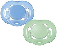 Avent BPA Free Freeflow Pacifier - Blue/Green - 6 - 18 Months