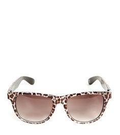Brown Leopard Print Frame Sunglasses new Look Teen Guy Fashion, All Fashion, Fashion Online, Fashion Beauty, Holiday Playsuits, Holiday Tops, Good To See You, Brown Leopard, Sunglass Frames