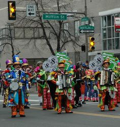 Mummers Parade 2013, Phila, PA