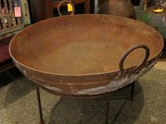 Fire Pit Vintage Iron - Reserved