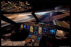 A320 Cockpit (2007) by Ismael Jordá on 500px