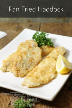 Cooking perfectly seared pan fried haddock every time is easy! This simple step-by-step guide will help you cook light, crispy fish, perfect for a quick lunch or supper meal. via Pan Fried Haddock Rootsy rootsynetwork H Supper Recipes, Fish Recipes, Seafood Recipes, Sole Recipes, Supper Ideas, Healthy Cooking, Cooking Recipes, Healthy Recipes, Cooking