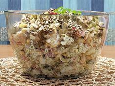Sałatka czosnkowa z makaronem tortellini Tortellini, Cooking Time, Potato Salad, Food And Drink, Vegetarian, Healthy Recipes, Meals, Dishes, Breakfast