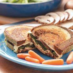 Vegetarian Reubens Recipe from Taste of Home