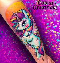 21 Unicorn Tattoo Ideas > CherryCherryBeauty.com