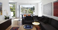 Casa a Sydney di Pohio Adams Architects - Living