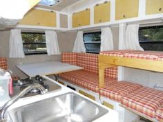 images about Camper Trailer Interiors on Pinterest