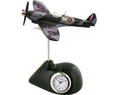 Original Gift Company WW2 Planes Miniature Clocks Watch time fly with one of our stylish desktop clocks. Featuring detailed replicas of 2 classic Second World War planes, they make the perfect desk accessories for any military-minded men.The Spitfire http://www.MightGet.com/february-2017-2/original-gift-company-ww2-planes-miniature-clocks.asp