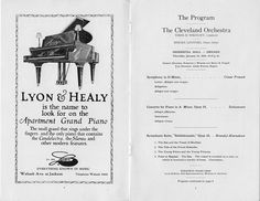 The Franck Symphony in D minor was first performed by the Orchestra in a January 1920 performance in Chicago's Orchestra Hall.