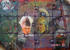 Acrylic Painting 178m W x 127m H x 3 cm