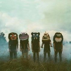 Creatures /Front cover of a bands album but i can't remember who now