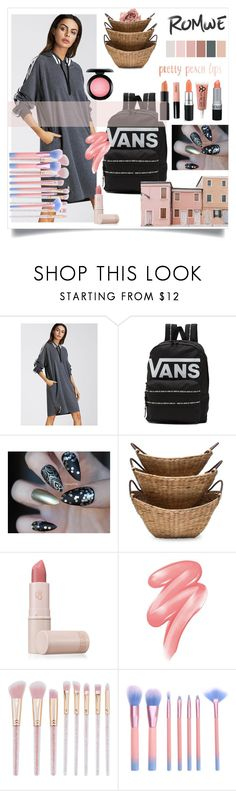 """""""My power look"""" by sarah66-1 ❤ liked on Polyvore featuring Vans, Lipstick Queen, Clinique and MAC Cosmetics"""