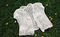 Light Crochet Cardigan.. Free pattern!