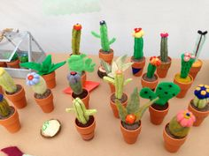 Large Custom Handmade Needle Felted Wool Cactus by COLORMEMETRIC, $36.00