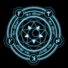 Generally, the magic circles are what differentiates mages from one another, each creates a magic circle of their own - it is like their signature. Description from pinterest.com. I searched for this on bing.com/images