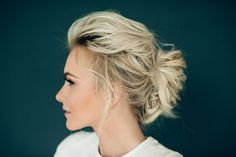 another incredible look created by stephanie brinkerhoff of Hair and Makeup by Steph. the sis a soft french twist that every bride should be asking for in my opinion!