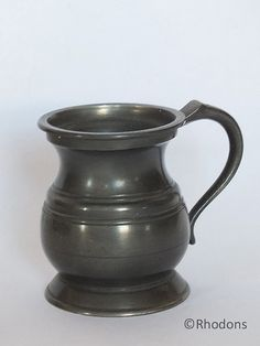 Antique Pewter Spirits Measure  Half Gill Capacity by Rhodons, £9.50