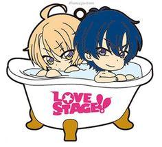 Love Stage!! Bath Defor Rubber Strap Izumi & Ryoma Others ANIME ... Love Stage, Shounen Ai, Romance, New Love, Fujoshi, Vocaloid, Smurfs, Chibi, Animation