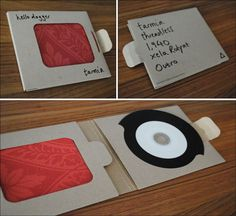 Hello Dagger DIY CD Packaging!