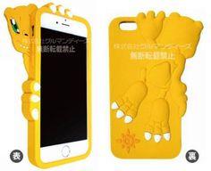 Gourmandise Digimon Adventure iPhone 6s/6 Diecut Silicone Jacket Case Agumon #Gourmandise