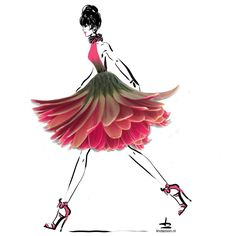 Let's #dress up for this #summer #weekend #inspiration by #flowers #floral #fashion #beautiful #instafashion #fashiondesigner #drawing draw #picture #artist #sketch #fashionworld paper #pencil #artsy #instaart #instagood #sketchbook #masterpiece #creative #fashion #instaartist #graphic #flowerpower #artoftheday #design by #lindazoon #hoogstraat