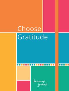 BCG Choose Gratitude journal